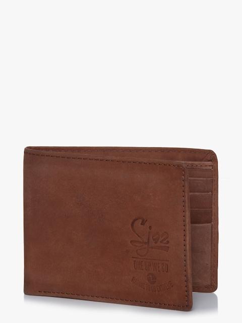 Cognac Brown Leather Wallet