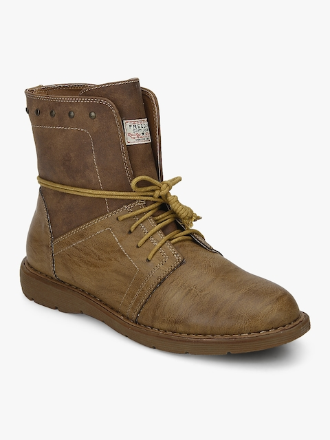 Tan Ankle Length Boots