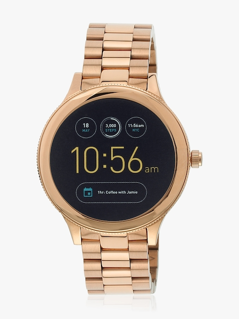 Ftw6000 Q Venture Rose Gold/Black Gen 3 Smart Watch