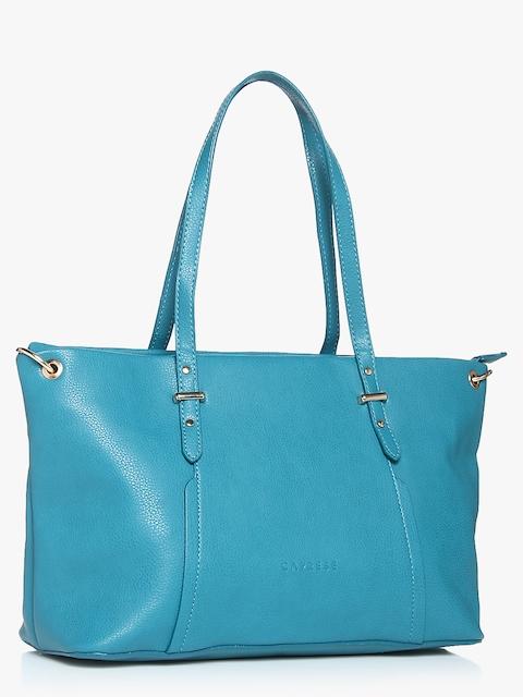 Zaha Aqua Blue Large Handbag