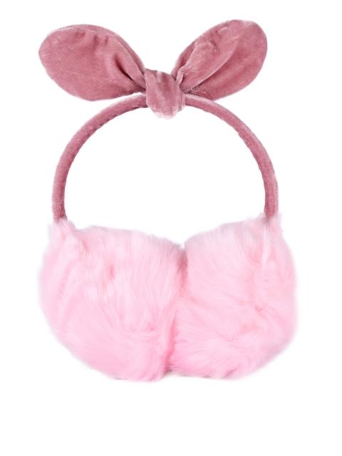 CUTECUMBER Pink Fur Hairband