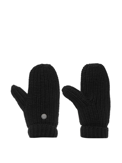 SoulCal Women Black Knitted Vesna Mittens