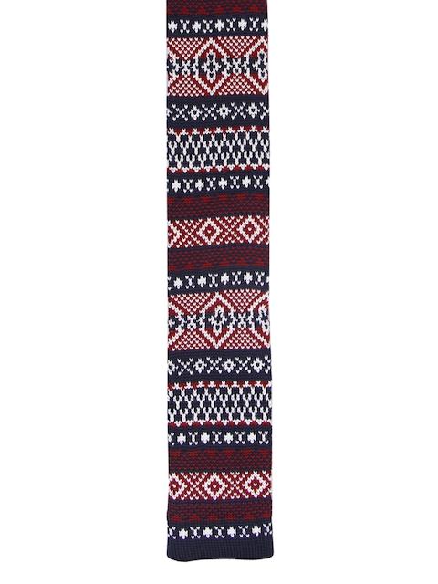 Tossido Men Multicoloured Woven Design Broad Tie