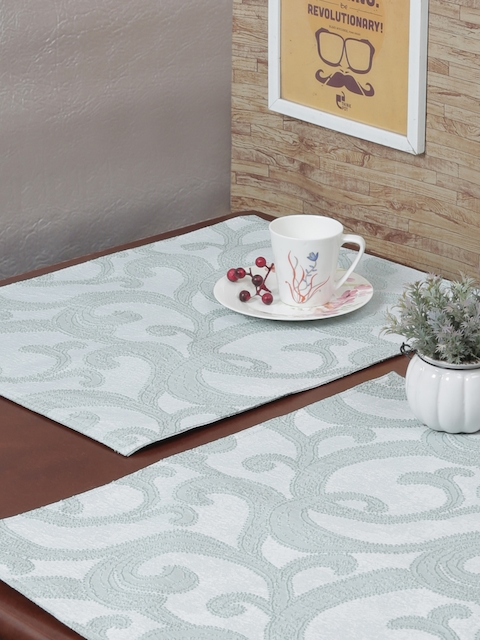 RANGRAGE Set of 6 Blue Handcrafted Table Placemats