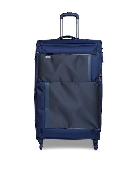 VIP Unisex Blue Pulse Large Trolley Bag