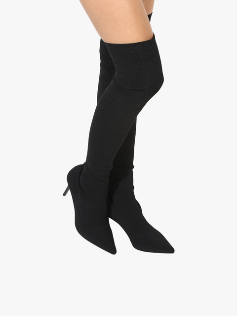 Fredy Black Heeled Boots