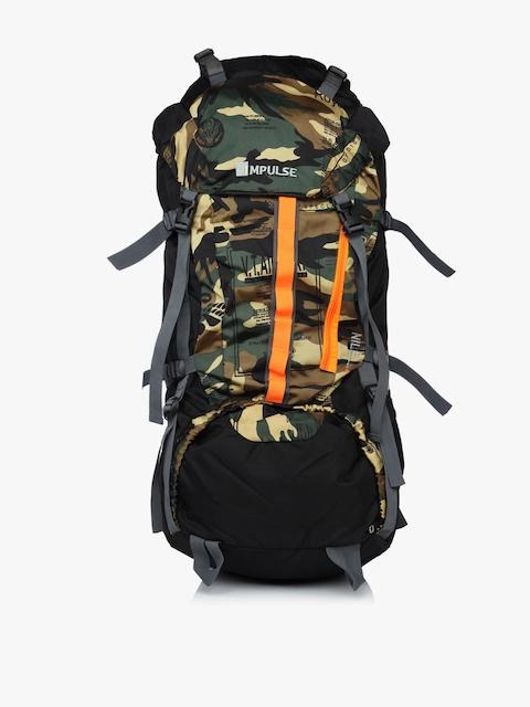 Impulse Unisex Multicoloured & Multicoloured Graphic Backpack