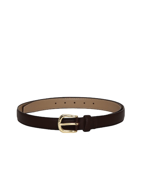 CHISEL Women Brown Solid Belt