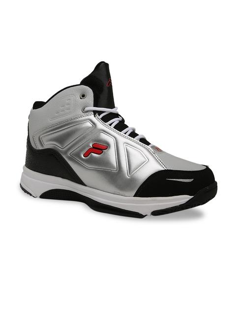 FILA Men Grey Basketball Shoes