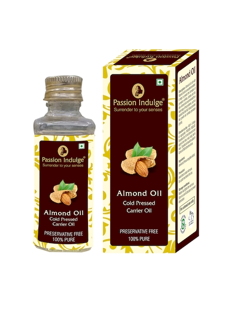 Passion Indulge Unisex Almond Carrier Hair Oil 60 ml