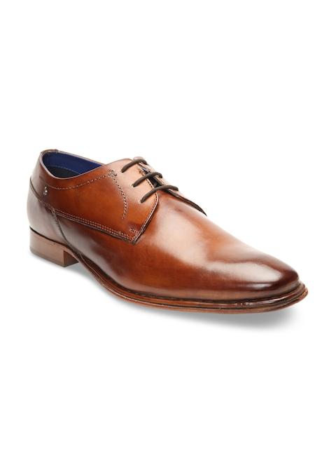 Bugatti Men Brown Formal Leather Derbys