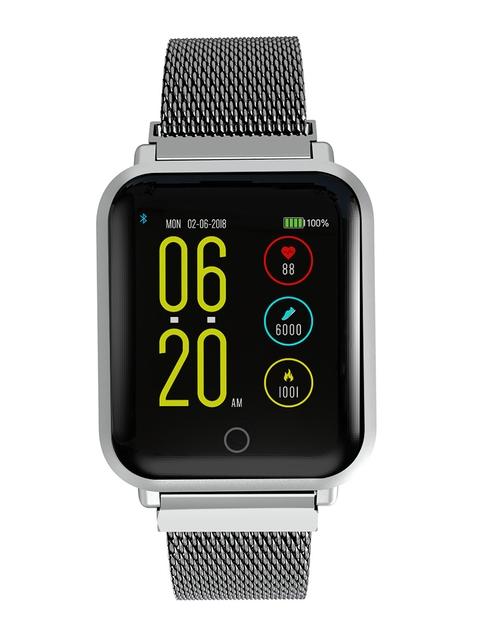 Noise Unisex Colorfit Pro Smartwatch Luxe Metal Silver