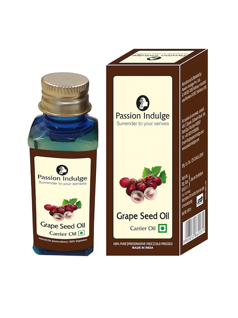 Passion Indulge Unisex Grapeseed Carrier Hair Oil 60 ML