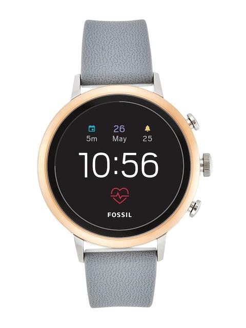 Fossil Q Venture HR Grey Smart Watch FTW6016