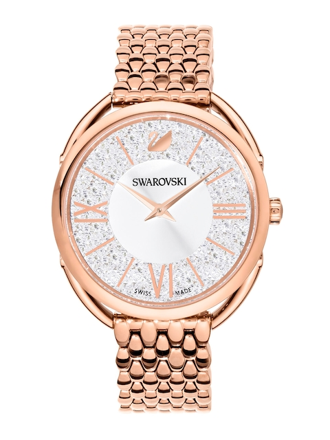 SWAROVSKI Women Gold-Toned Analogue Watch