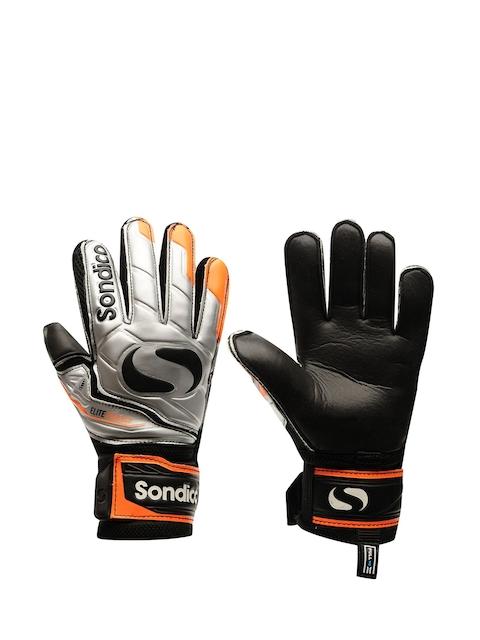Sondico Men Orange & Black Goalkeeper Match Gloves