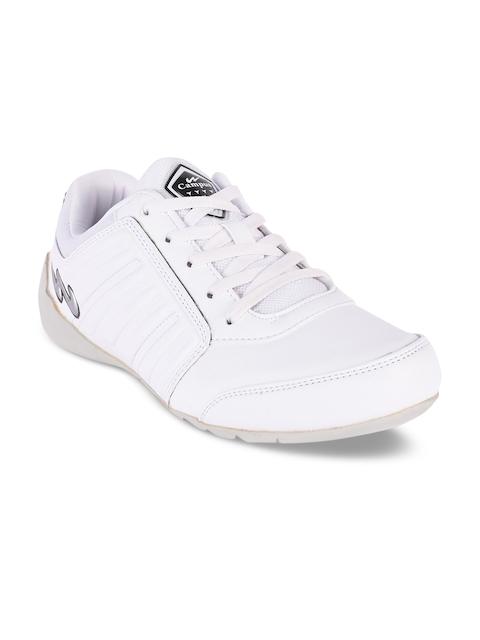 Campus Men Clifton White Sneakers