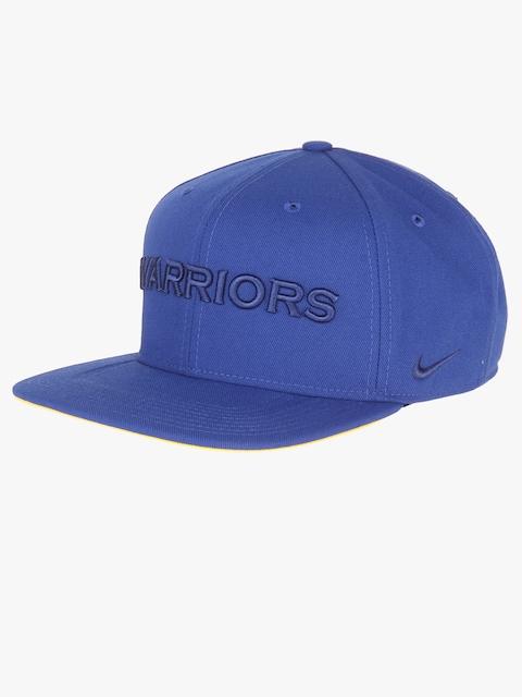 Nike Men Blue Solid Snapback Cap