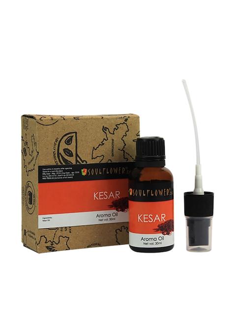 Soulflower Orange Kesar Aroma Oil 30 ml