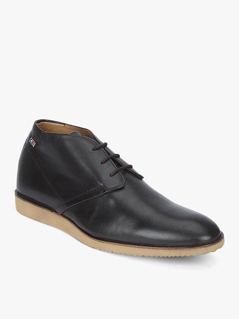 Arrow Men Brown Flat Boots