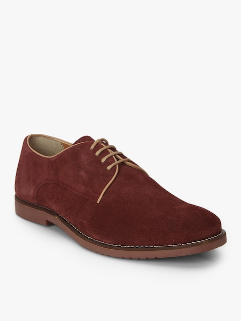 Maroon Derby Formal Shoes