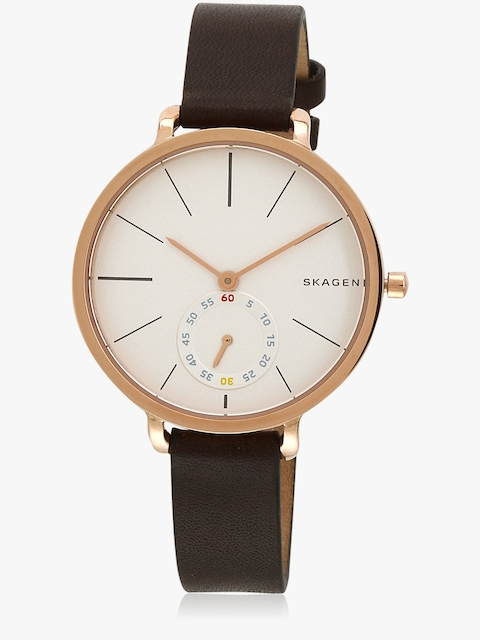 Skw2356 Brown/White Analog Watch