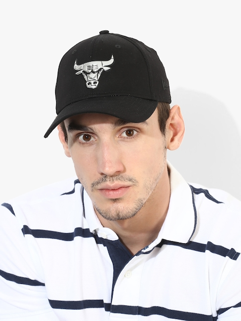 NEW ERA Men Black NBA Chicago Bulls Cap
