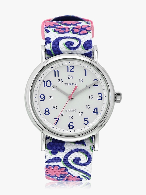 Timex Women White Analogue Watch TW2P90200