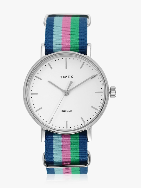 Timex Women White Analogue Watch TW2P91700