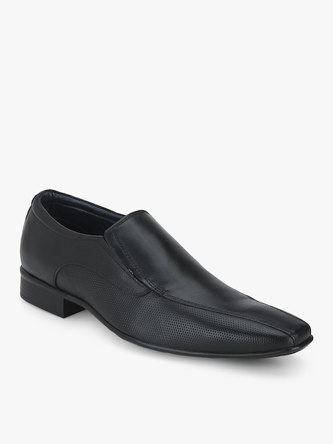 Accent Black Formal Shoes