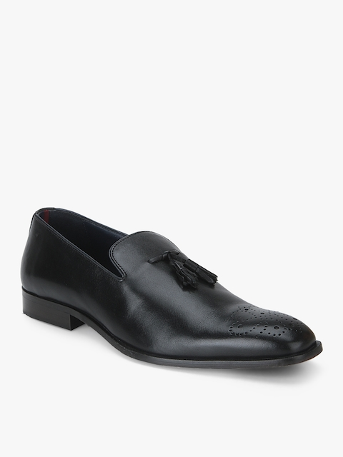 Brutus-Tassel Brogue Black Formal Shoes