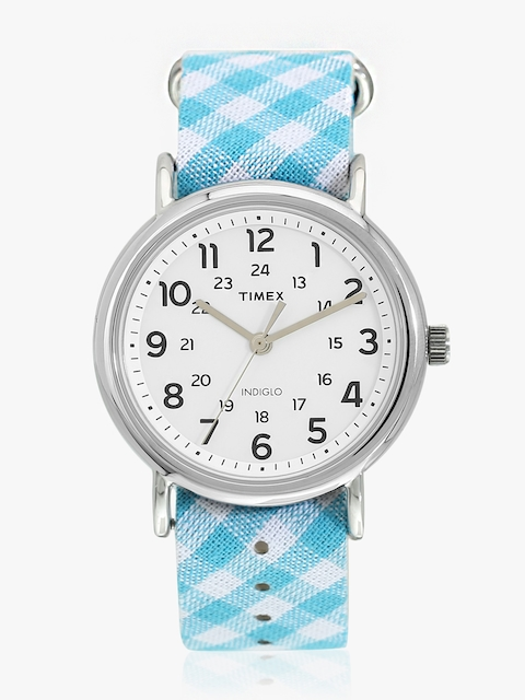 Timex Women White Analogue Watch TW2R24400