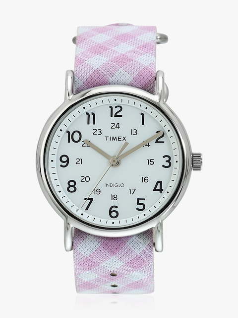 Timex Women White Analogue Watch TW2R24200
