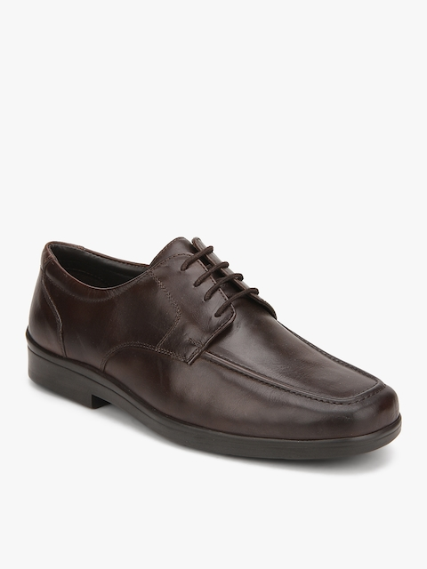 Maycob Brown Derby Formal Shoes