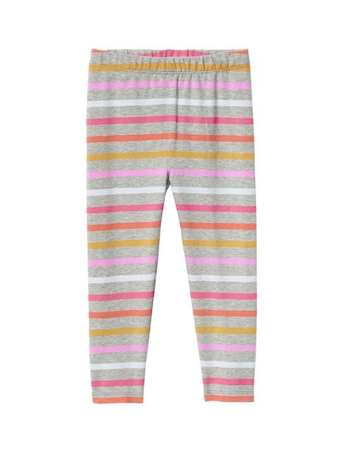 GAP Girls Grey Print Stretch Jersey Leggings