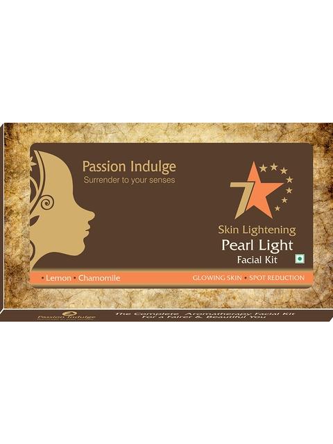 Passion Indulge Women Skin Lightening Pearl Light 7 Star Facial Kit