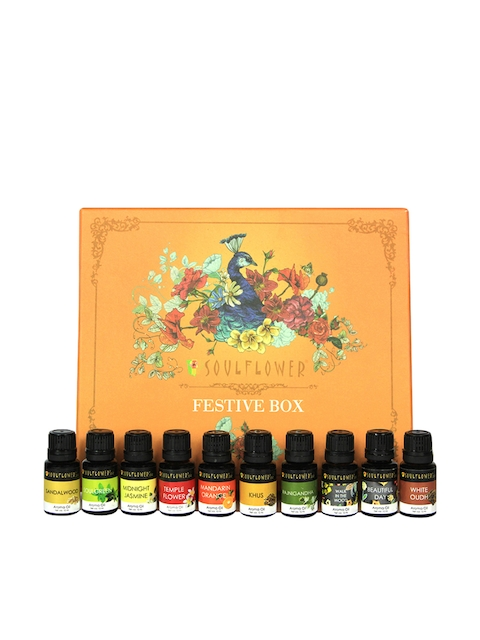 Soulflower Set of 10 Aroma Oil 800 g