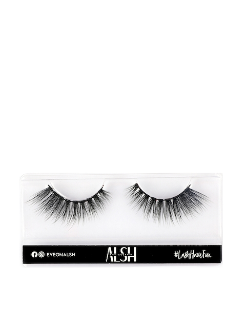 ALSH Women Black Drama Length & Volume Premium 3D Faux Mink Lashes D309