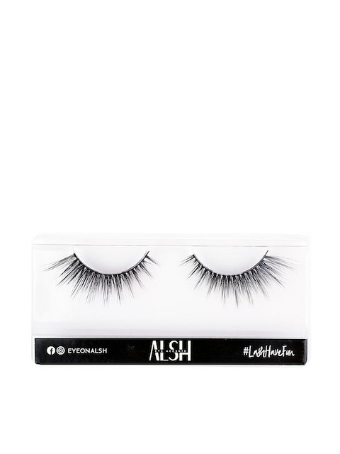ALSH Women Black Length Premium 3D Faux Mink Lashes L102