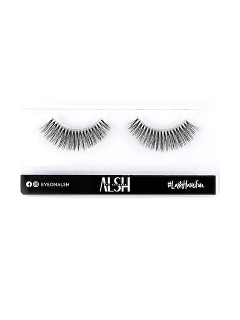 ALSH Women Black Clear Band - Natural Premium 3D Faux Mink Lashes CB504