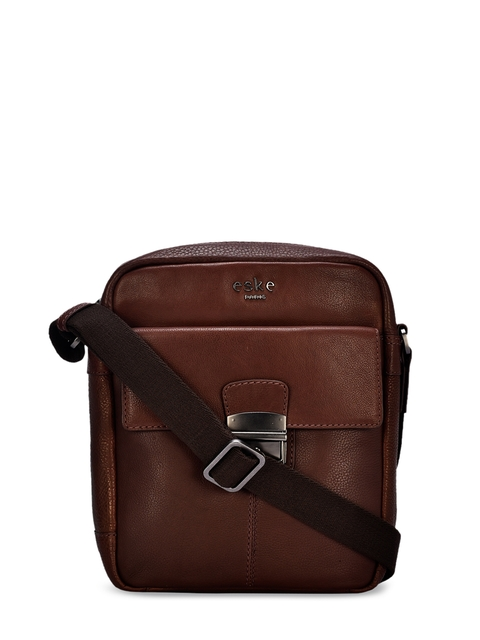 Eske Rihala Women Brown Messenger Travel Bag