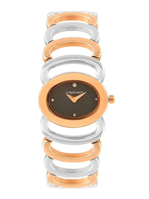 Dsigner Women Brown Analogue Watch 182 RTM.13