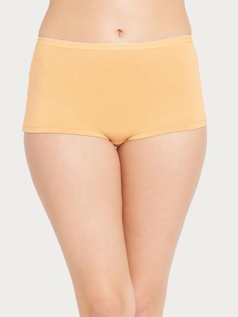 Clovia Women Nude Boy Shorts PN2366P24XL