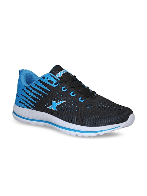 Sparx Women Black & Blue Running Shoes