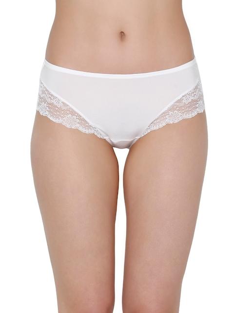 Triumph Women White Solid Hipster Briefs 7613142653732