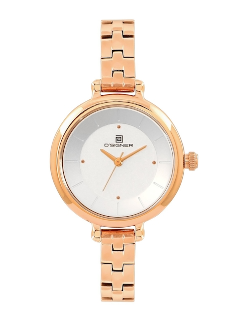 Dsigner Women Gold-Toned Analogue Watch 762 RGM.2