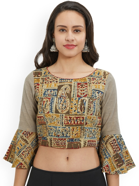 Just B Women Multicoloured Printed Blouse