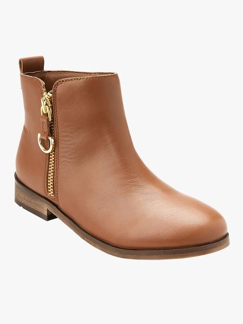 Zip Chelsea Boots