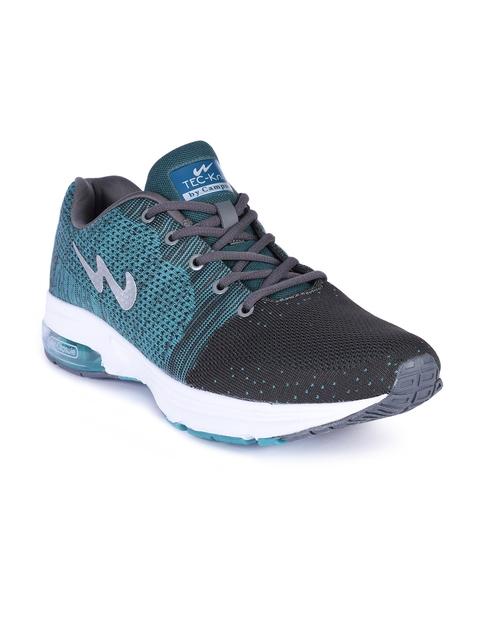 Campus Men Teal Green Running Shoes