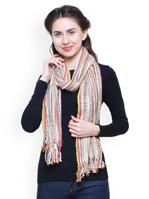 Anekaant Women Multi-coloured Woven Design Stole